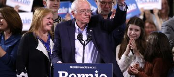 Presidential Candidate Bernie Sanders Holds Super Tuesday Night Rally In Vermont