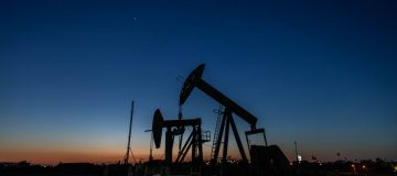 Oil traders were on the receiving end of some welcome respite this morning as prices firmed overnight after a week of extreme volatility.