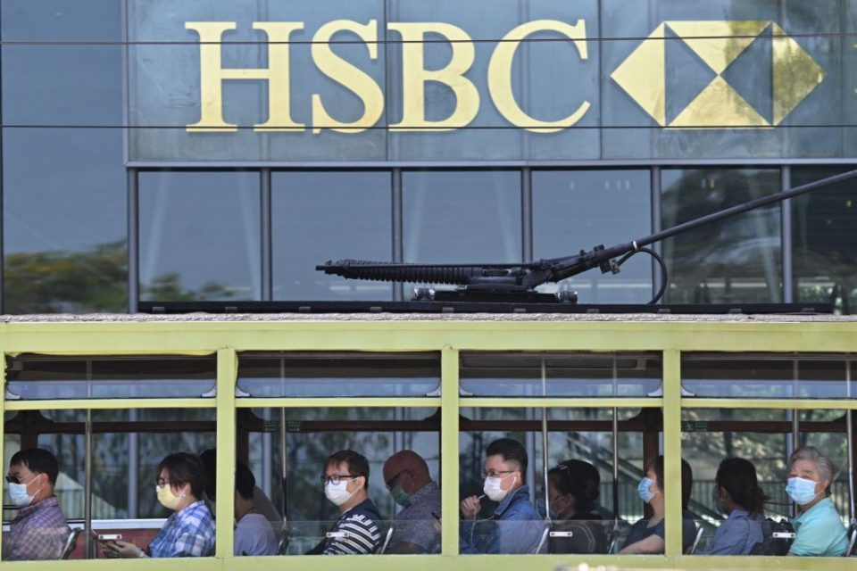 HSBC has revealed a 48 per cent slump in first quarter profit to $3.21bn as a result of the coronavirus pandemic