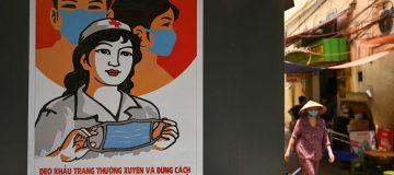 VIETNAM-HEALTH-VIRUS-ART