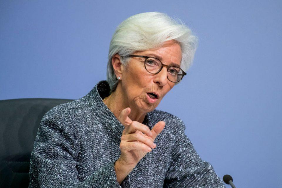 Christine Lagarde European Central Bank ECB coronavirus interest rates