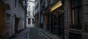 Landmarks Are Eerily Quiet As People Heed Warnings Not To Congregate Due To Coronavirus