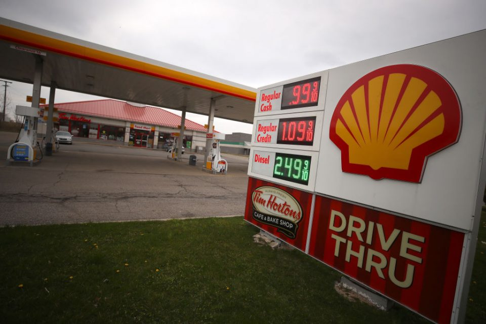 Gas Prices Drop Below A Dollar A Gallon In Parts Of Michigan