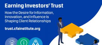Earning investors' trust amidst market uncertainty
