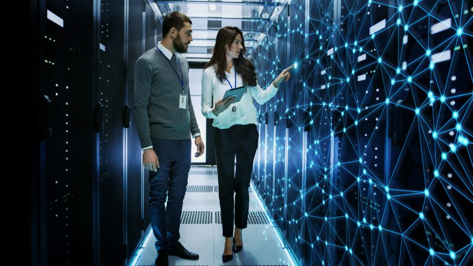 Blockchain Start-Up and data centre Initiative against Covid-19
