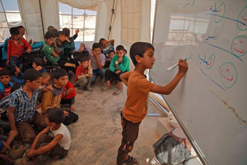 SYRIA-CONFLICT-IDLIB-SCHOOL-UN