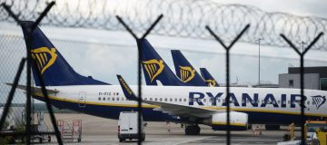 Europe's largest low-cost carrier Ryanair revealed that passenger numbers fell 99.6 per cent in April as the coronavirus crisis continued to cripple global aviation.