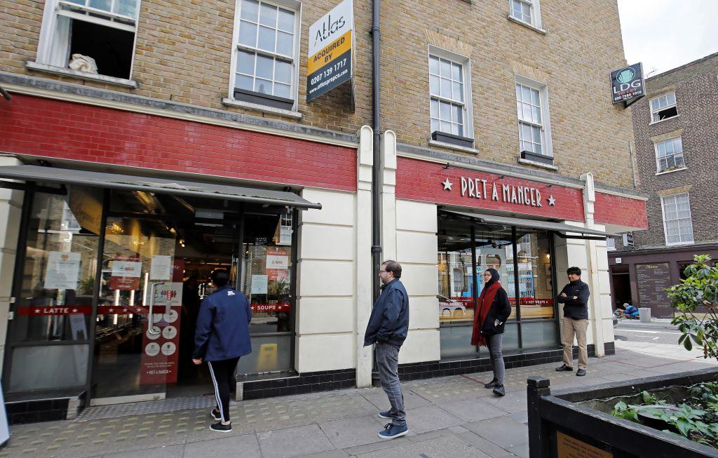 Pret a Manger set for crucial rent talks with landlords