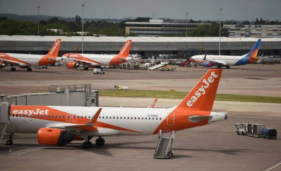 Easyjet had grounded its entire fleet for an indefinite period of time over the coronavirus crisis