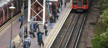Boris Johnson has urged commuters not to crowd onto public transport as some workers began returning to their offices today.