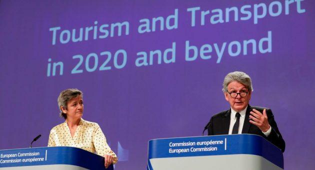 EU unveils plans to reopen borders in bid to salvage tourism season