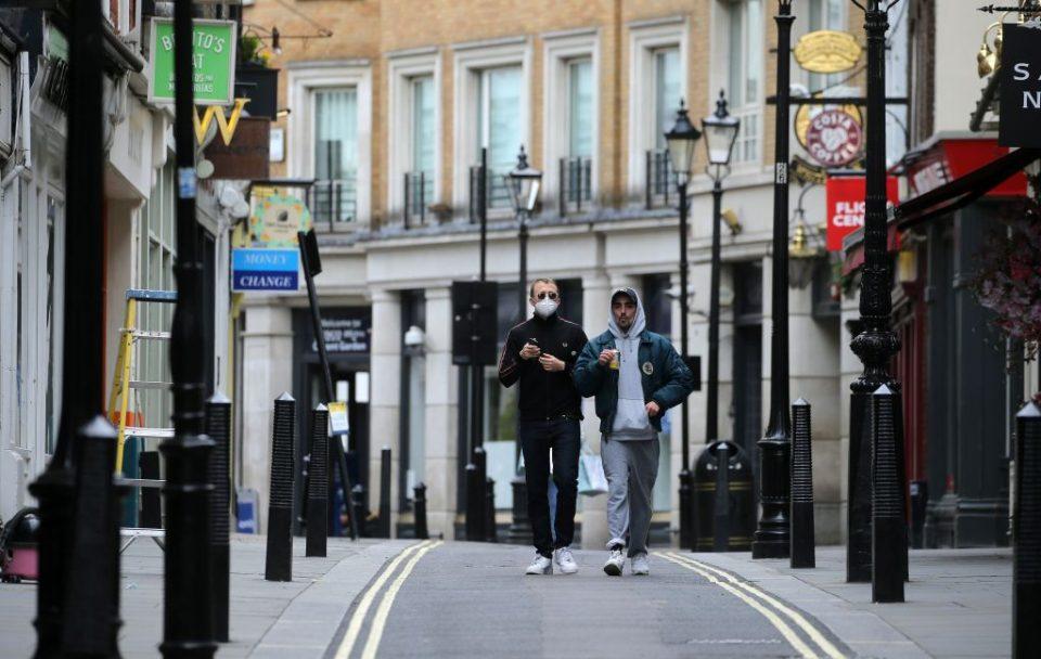 uk retail footfall