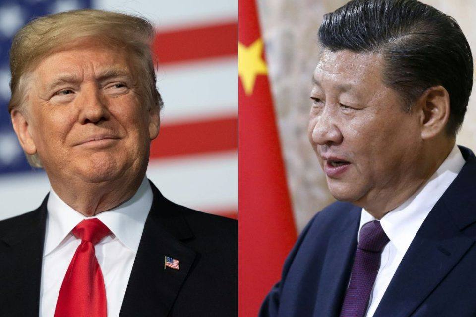 "President Donald Trump ramped up his war of words with China overnight, accusing his counterpart Xi Jinping of orchestrating a ""disinformation and propaganda attack on the United States and Europe""."