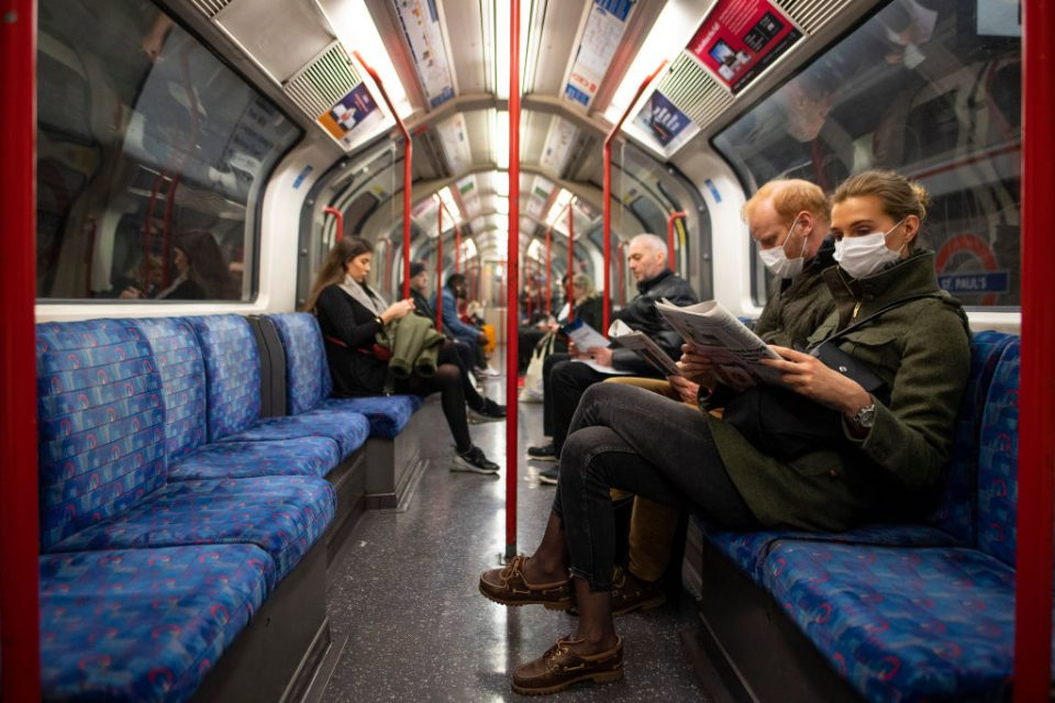 """Legal & General chief executive Nigel Wilson said is is vital to """"break down"""" the fear of using public transport to get workers back to the office."""