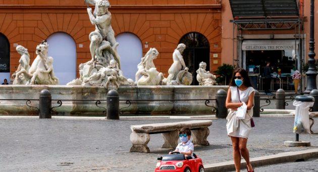 Italian and French economies crash in first quarter as coronavirus bites