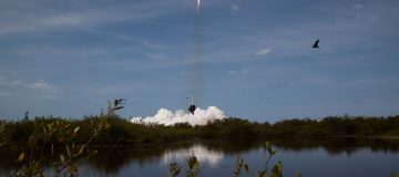 SpaceX astronauts arrive at ISS in historic moment for private spaceflight