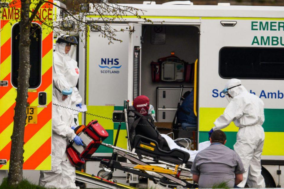 UK coronavirus death toll