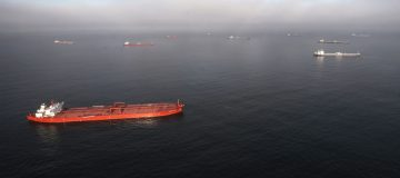 Dozens Of Oil Tankers Sit Off The California Coast As Demand For Crude Plummets During Pandemic