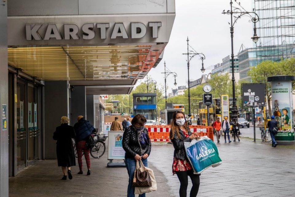 Germany's economic crash eases as it lifts coronavirus lockdown
