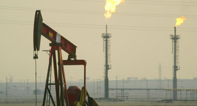 Oil prices rose today ahead of a meeting of major oil producers that could lead to further output cuts to shore up prices.