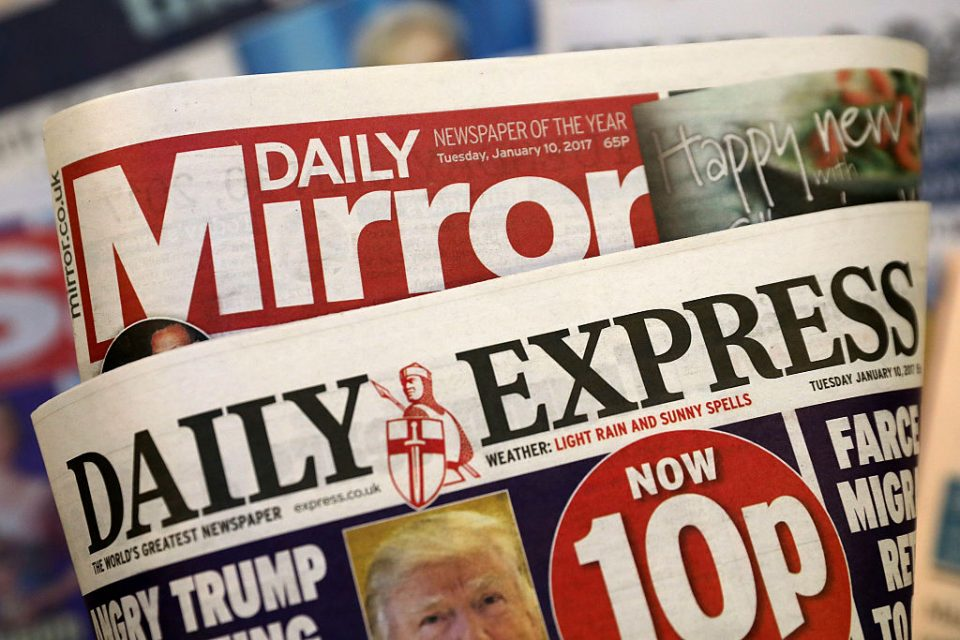 Trinity Mirror And Express Newspapers Back In Merger Talks