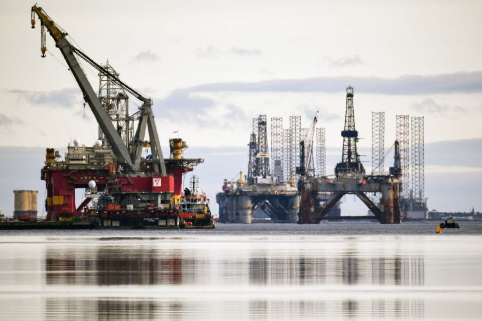 More than a third of the remaining oil in the North Sea basin may never be extracted if prices do not improve, a new study has warned.