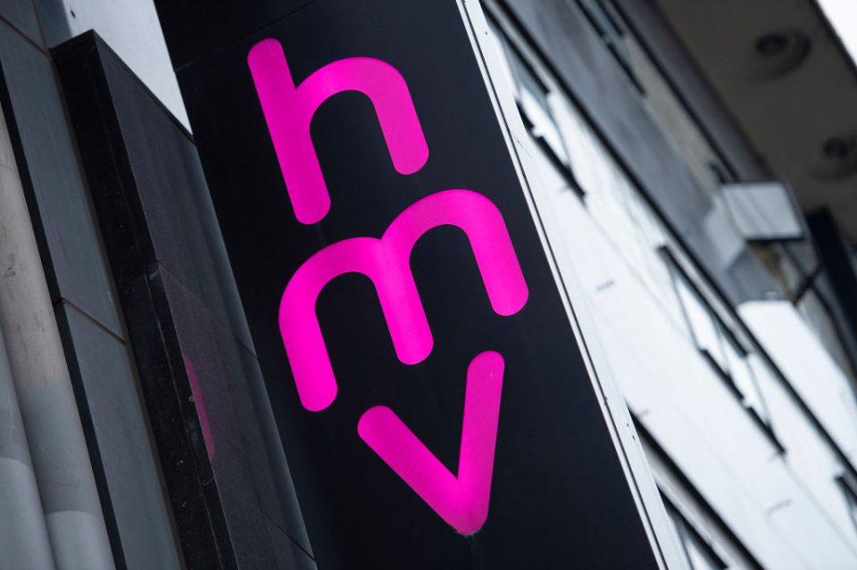 BRITAIN-MUSIC-RETAIL-HMV