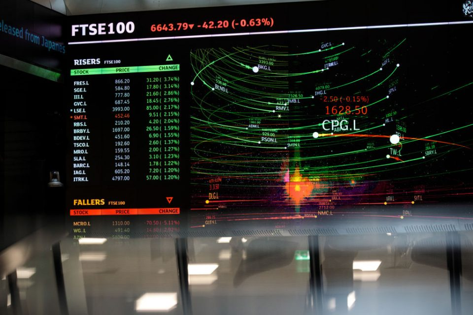 FTSE opens in the red as fears over second coronavirus wave grow