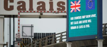 Activity At Calais As The UK Enters Brexit Transition Period