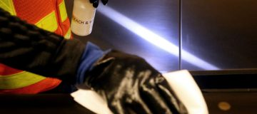 Demand for coronavirus cleaning products pushed FTSE 100-listed Bunzl higher today