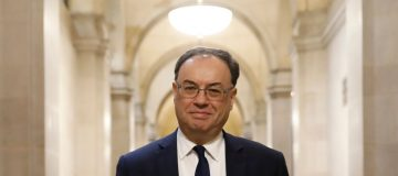 BoE governor Andrew Bailey: Fiscal stimulus should keep climate change in mind