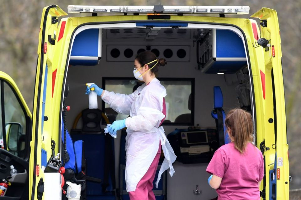 UK coronavirus death toll nears 50,000