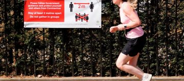 How running took off during UK lockdown
