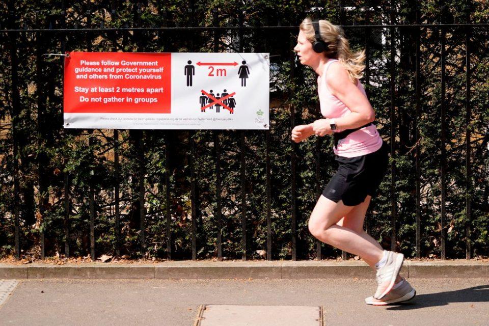 How running took off during the UK's coronavirus lockdown