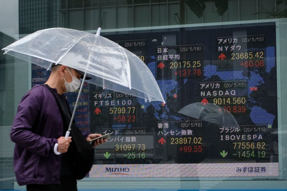 Asian stocks climb as equities head for weekly gain