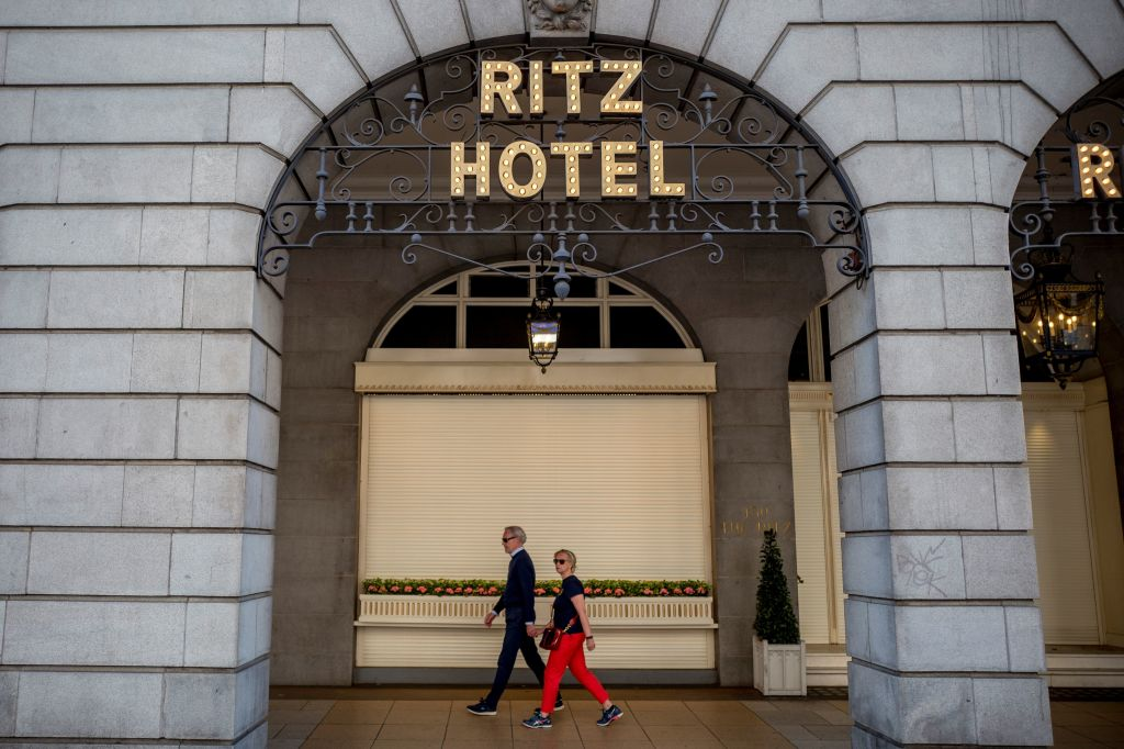 BRITAIN-QATAR-HOTELS-RITZ-SALE