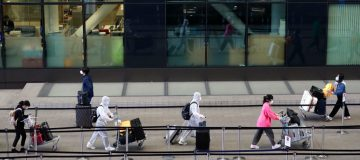 The government is considering relaxing its blanket quarantine measures for incoming travellers to the UK, it was reported today.