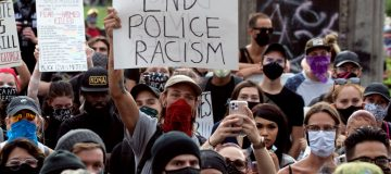 US president Donald Trump on Monday told state governors to crack down on growing protests across the country against the treatment of African-Americans by police forces.