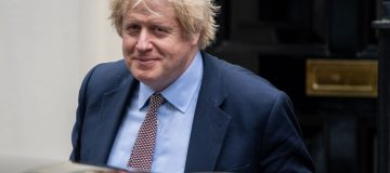 Boris Johnson Leaves For First PMQs Since Chief Advisor Lockdown Breach Press Coverage