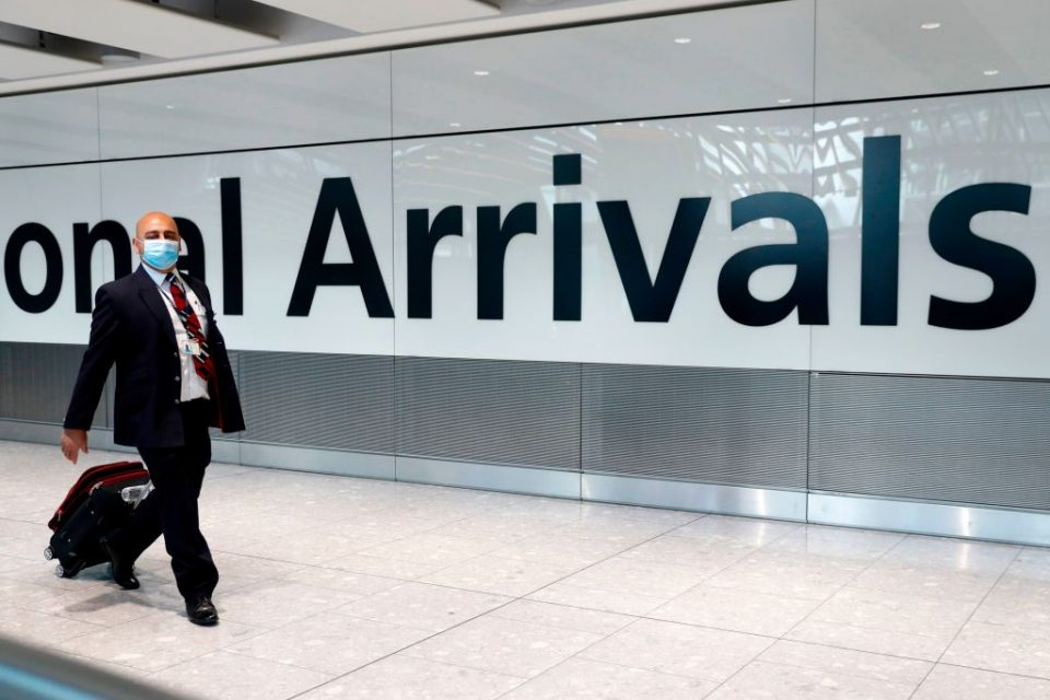 The boss of Britain's corporate travel industry body has warned that one in every two jobs in the sector is at risk due to the government's blanket quarantine plans for all incoming travellers, City A.M. can reveal.