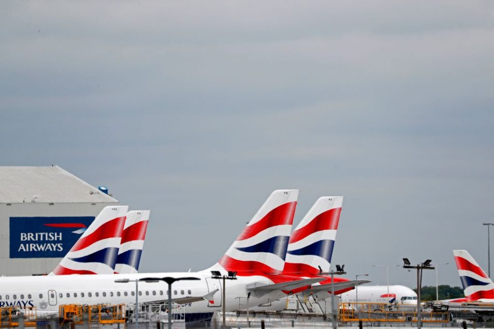 British Airways is one of many UK companies making a collective 98,000 job cuts during the pandemic