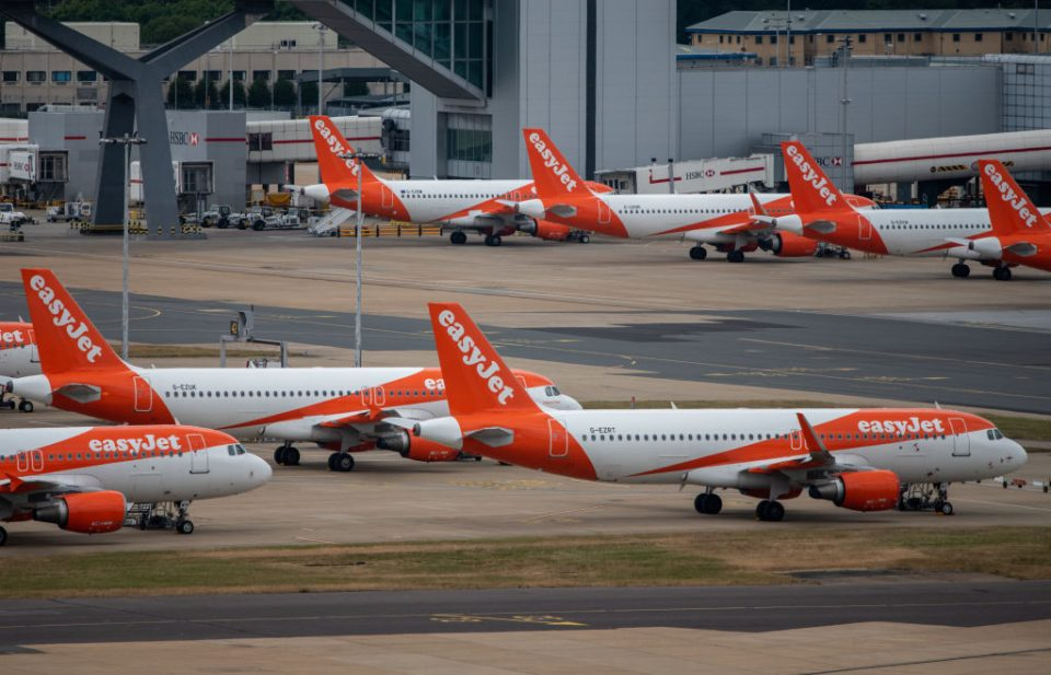 Up to a third of Easyjet's pilot roles are at risk of redundancy as the low-budget carrier seeks to cut costs after the coronavirus pandemic.