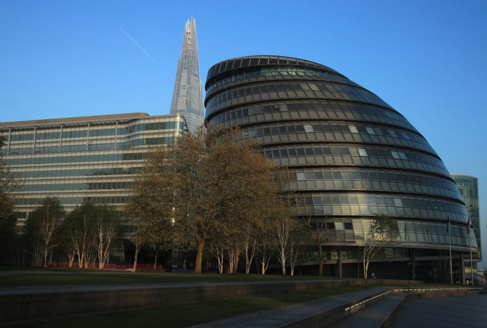London Mayor Sadiq Khan has proposed moving the headquarters of the Greater London Assembly from City Hall in a bid to save £55m in the aftermath of the coronavirus crisis.