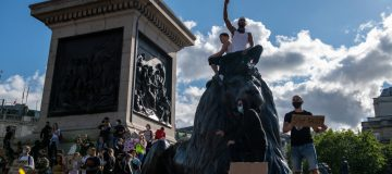 Black Lives Matter Protests Take Place Across The UK