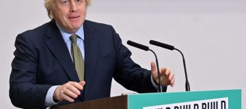 """Boris Johnson has today laid out his vision for rebuilding the UK after the coronavirus pandemic, pledging to """"build build build"""" to get Britain back on its feet."""
