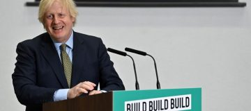 Boris Johnson Makes A Speech On The UK's Economic Recovery