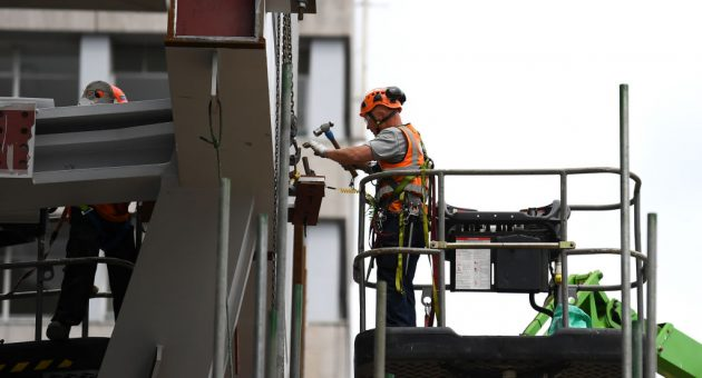 UK construction sector decline slows but industry remains gloomy