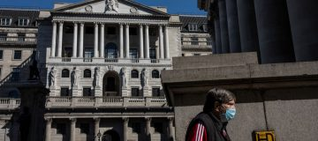 """Bank of England interest rate-setter Michael Saunders said today that it was """"quite likely"""" that more stimulus will be needed for Britain's COVID-hit economy in a downbeat speech on the outlook."""