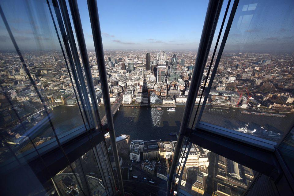 Shard Skyscraper Previews Viewing Platform