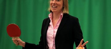 Tracey Crouch MP Visits Sport England 'Fit for Fun' Project